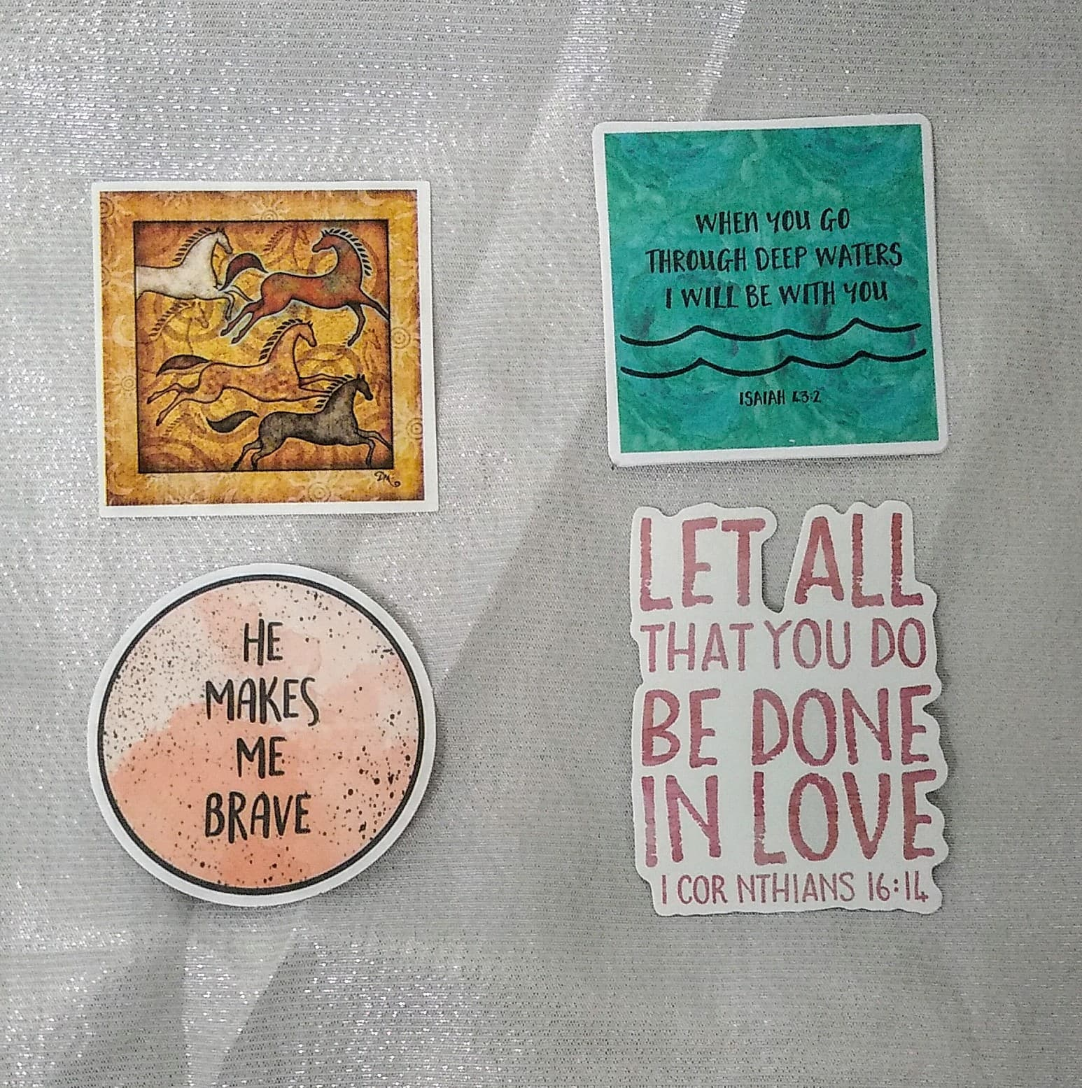 Christian Positive Stickers