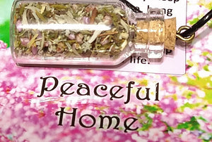 Peaceful Home Herbs Bottle