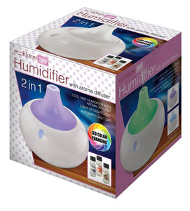 New in Box HUMIDIFIER WITH AROMA DIFFUSER - Edy's Treasures