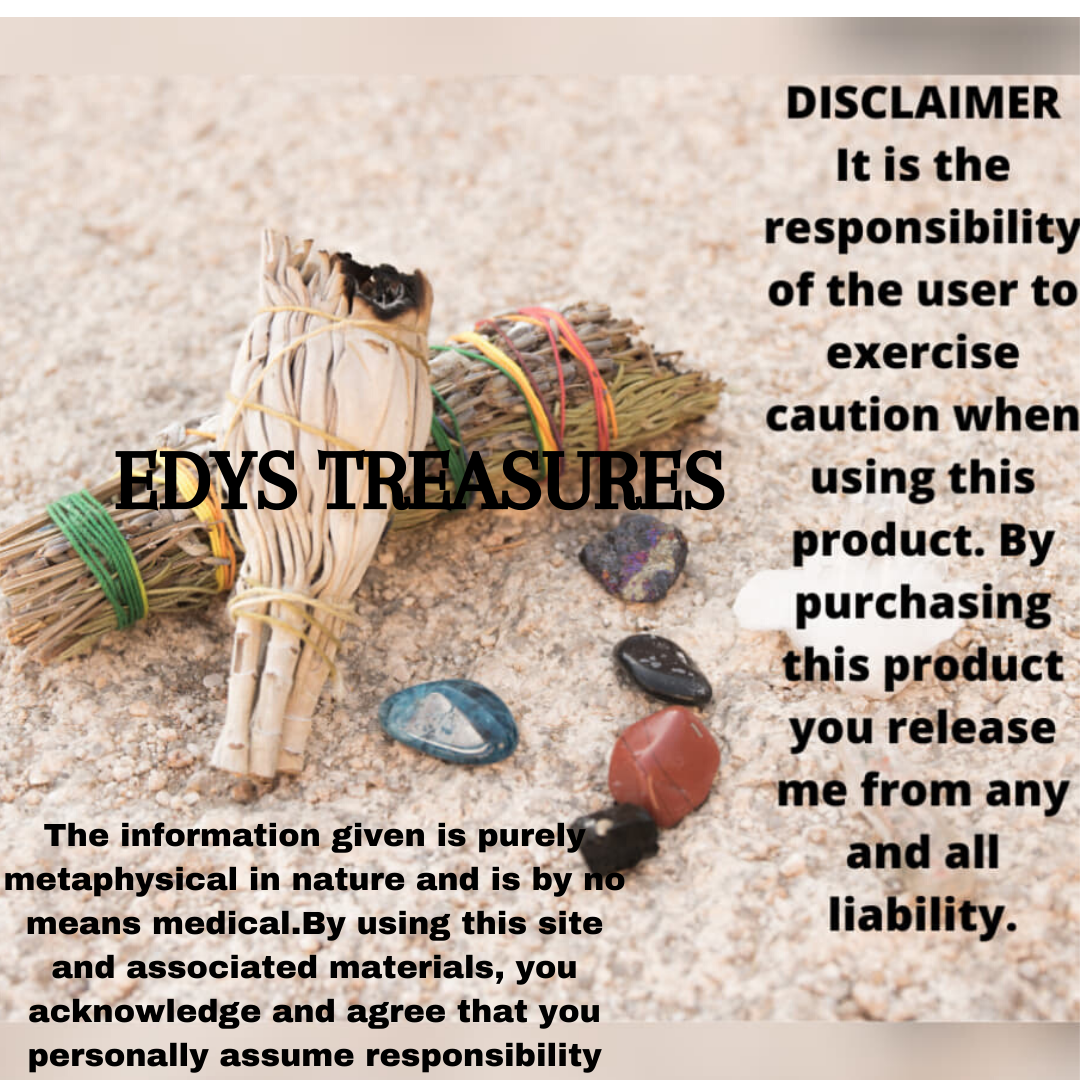 Chakra Stones & Rosemary Smudge Kit - Edy's Treasures