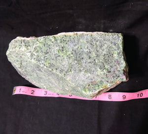 Rough Large Heavy Ruby Zoisite Stone