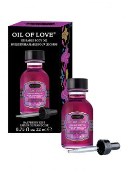 Oil of Love - Raspberry Kiss - 0.75 Fl. Oz. / 22 ml - Edy's Treasures