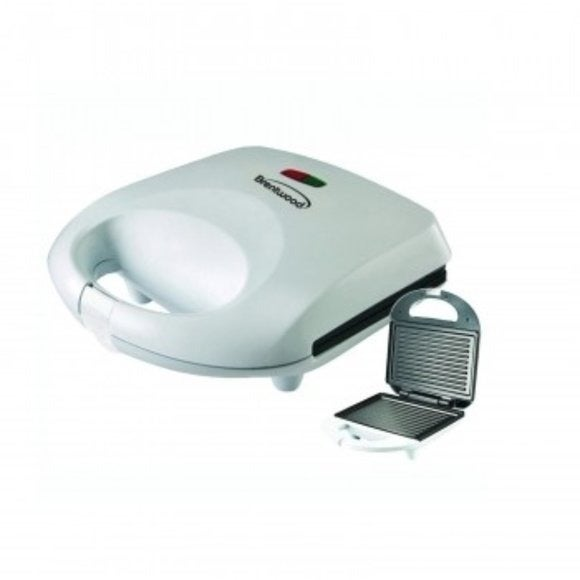 New BRENTWOOD PANINI MAKER (WHITE) - Edy's Treasures