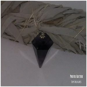 White Sage Smudge & Amethyst Pendulum Set - Edy's Treasures