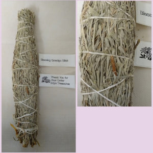 Large blessing smudging stick