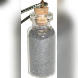 Witch's Black Salt Bottle