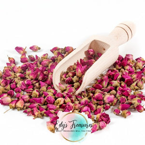 Dry Rose Buds and Petals