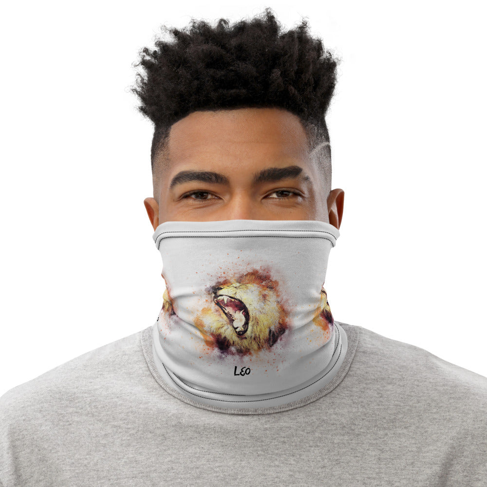 Unisex Leo Face Mask Neck Gaiter - Edy's Treasures