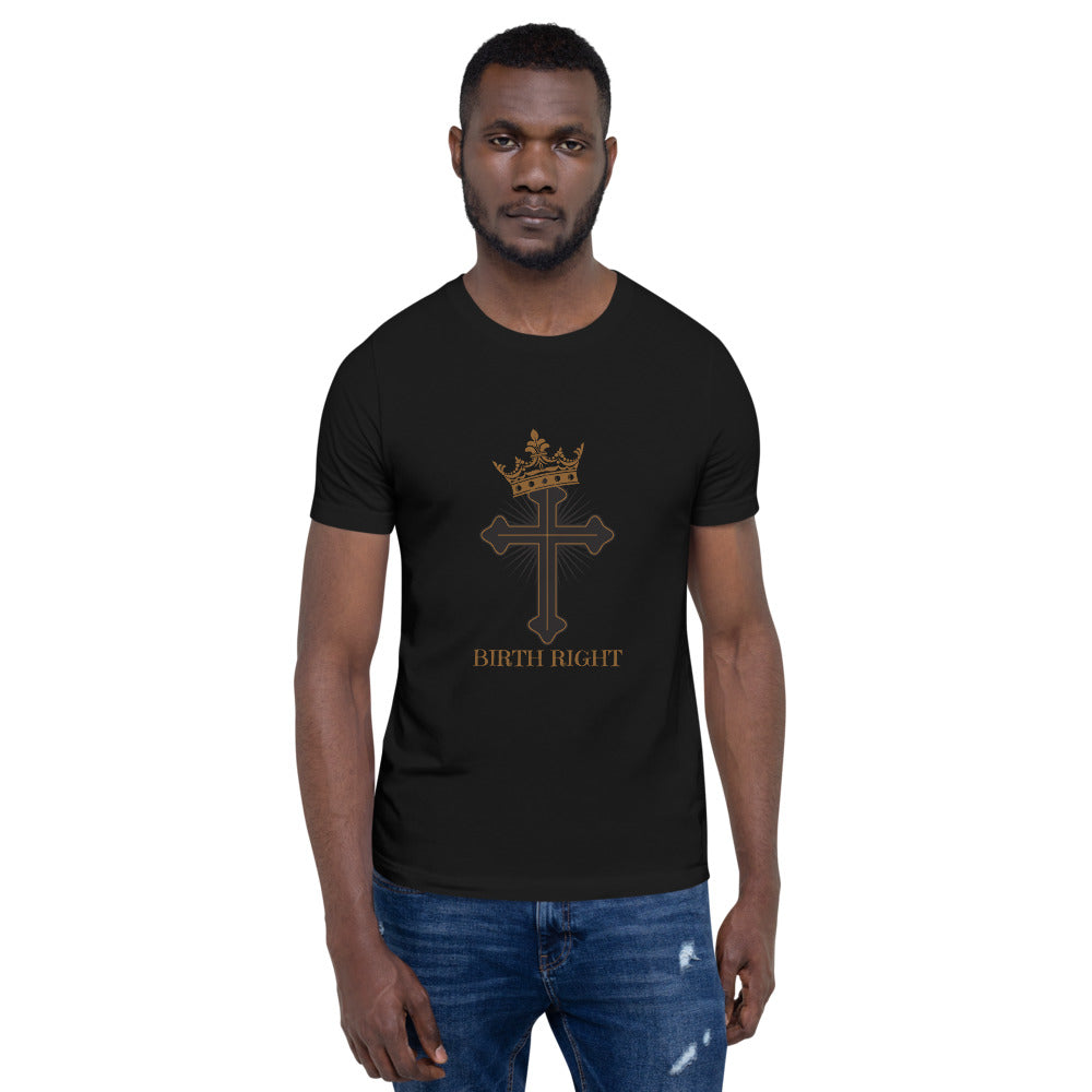 Cross Crown Short-Sleeve Unisex T-Shirt - Edy's Treasures