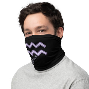 Unisex Made In The USA Aquarius Neck Gaiter, Face mask - Edy's Treasures