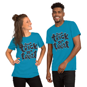 Trick Or Treat Short-Sleeve Unisex T-Shirt