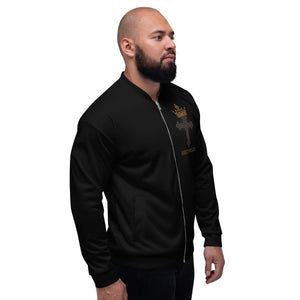 King Birth Right Unisex Bomber Jacket - Edy's Treasures