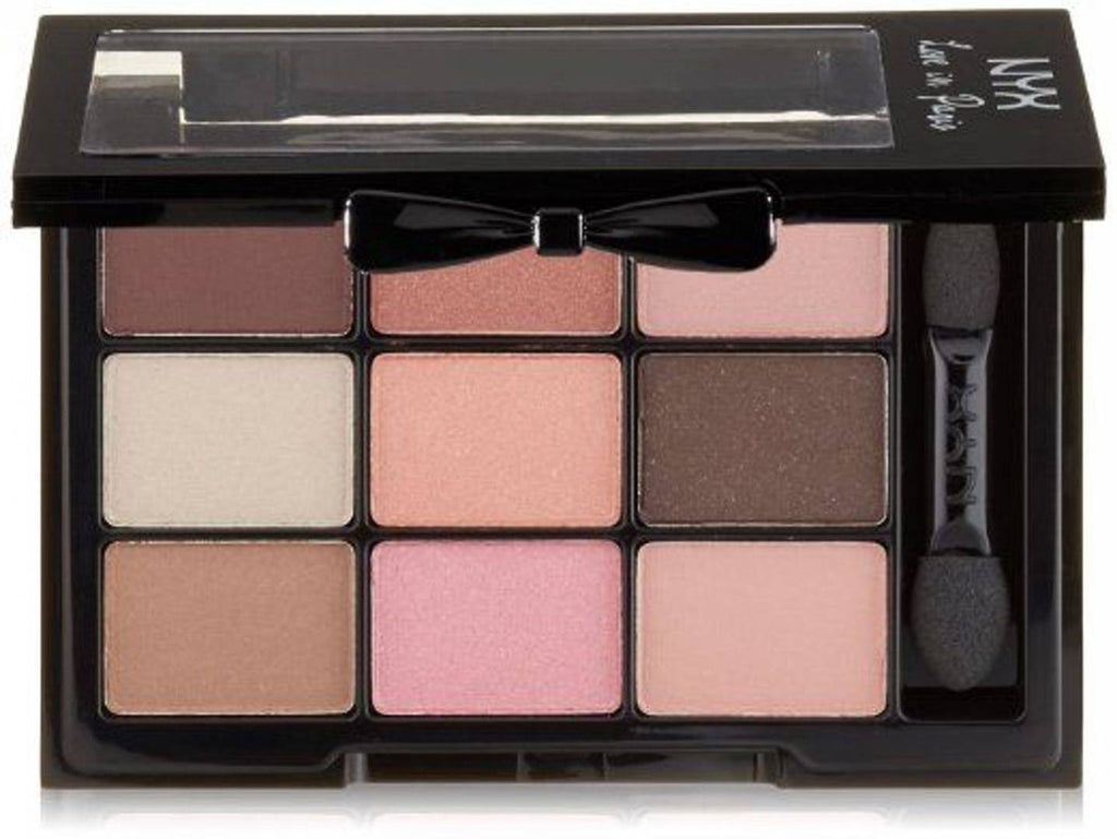 NYX Cosmetics Love in Paris 9-Pan Shadow Palette - Edy's Treasures