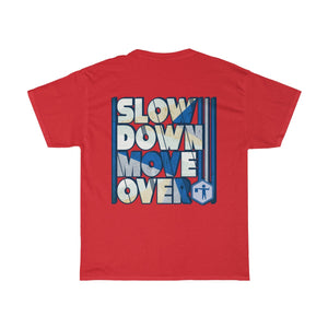 Unisex Heavy Cotton Tee - SDMO Blue Flagger