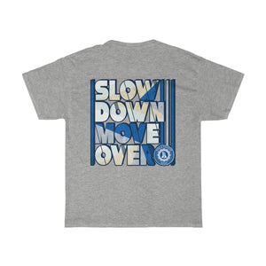 Unisex Heavy Cotton Tee - SDMO Blue Mobile Mechanic