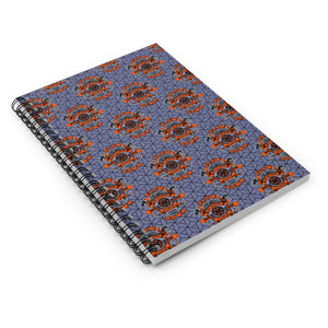 Spiral Notebook - Ruled Line - SDMO Multi-Badge
