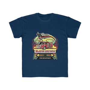 Kids Regular Fit Tee - SDMO Fire Mural Design