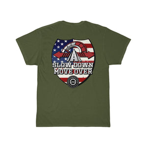 Tee (Back Design) - SDMO Flag Shield (Towing)