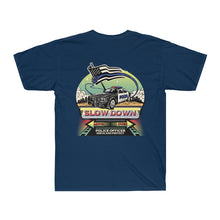 Load image into Gallery viewer, Men's Surf Tee - SDMO Police Mural Design