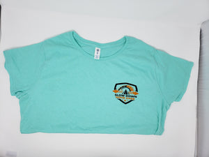 Ladies Pre-Shrunk Soft-Spun Cotton T-Shirt w/ SDMO Shield