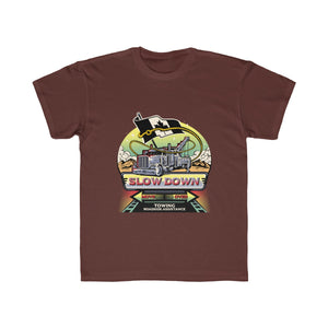 Kids Regular Fit Tee - Canadian SDMO Towing Mural Design