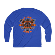 Load image into Gallery viewer, Men's Long Sleeve Moisture Absorbing Tee - SDMO Gear and SDMO Badge Designs