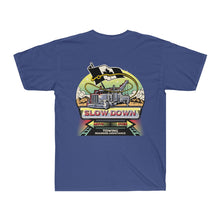 Load image into Gallery viewer, Men's Surf Tee - Canadian SDMO Towing Mural Design