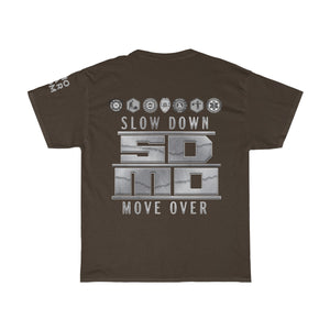 Unisex Heavy Cotton Tee - SDMO Silver Design (All Emblems)