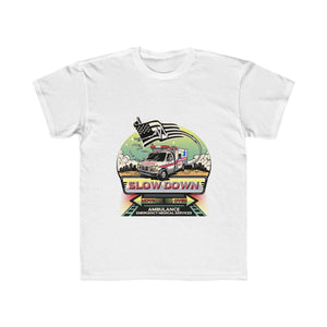 Kids Regular Fit Tee - SDMO EMS EMT Mural Design