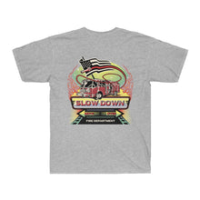 Load image into Gallery viewer, Men's Surf Tee  - SDMO Fire Mural Design
