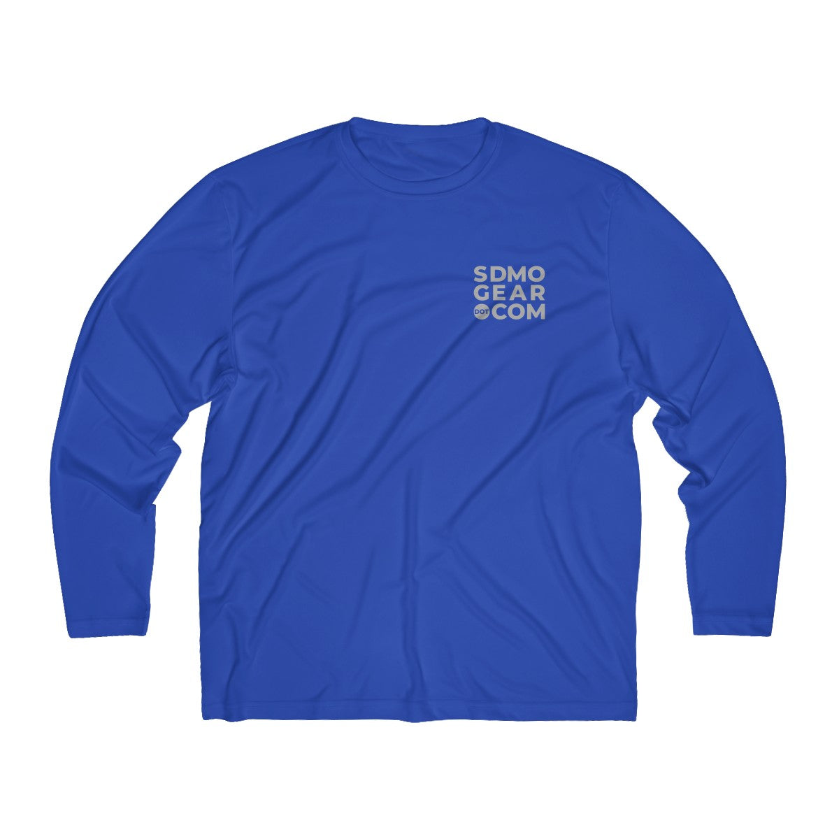 Men's Long Sleeve Moisture Absorbing Tee - SDMO Gear and SDMO Badge Designs