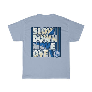 Unisex Heavy Cotton Tee - SDMO Blue Road Construction