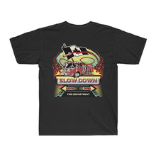 Load image into Gallery viewer, Men's Surf Tee  - Canadian SDMO Fire Mural Design