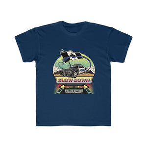 Kids Regular Fit Tee - Canadian SDMO Police Mural Design