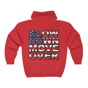 Unisex Heavy Blend Full Zip Hoodie - SDMO Flag / Multi