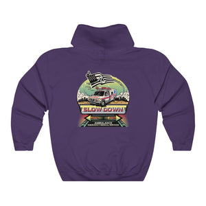 Unisex Heavy Blend™ Hooded Sweatshirt - SDMO EMS EMT Mural
