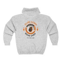 Load image into Gallery viewer, Unisex Heavy Blend™ Full Zip Hooded Sweatshirt - SDMO Hand Design