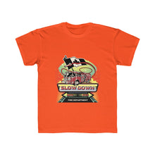 Load image into Gallery viewer, Kids Regular Fit Tee - Canadian SDMO Fire Mural Design