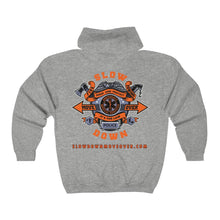 Load image into Gallery viewer, Unisex Heavy Blend Full Zip Hoodie - Multi Mural / Gear