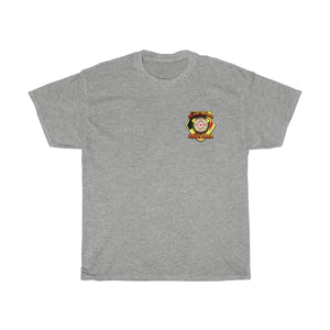 Basic Heavy Cotton Tee - SDMO Fire Badge Design