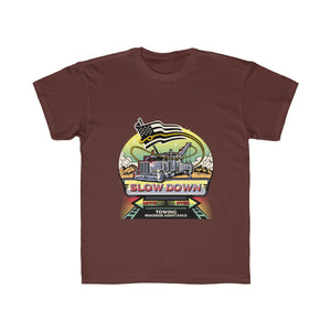 Kids Regular Fit Tee - SDMO Towing Mural Design