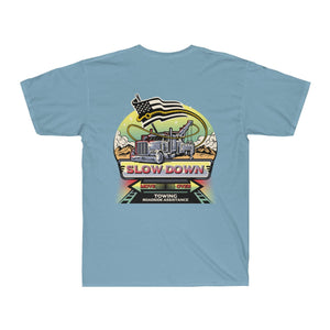 Men's Surf Tee - SDMO Towing Mural Design