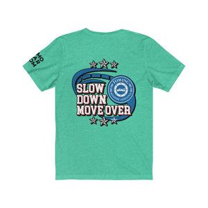 Unisex Jersey Short Sleeve Tee - SDMO Swirl - Towing
