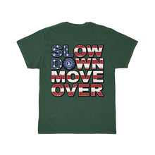 Load image into Gallery viewer, SDMO Flag (Mobile Mechanic) Short Sleeve Tee Back Design