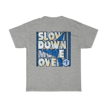 Load image into Gallery viewer, Unisex Heavy Cotton Tee - SDMO Blue Flagger
