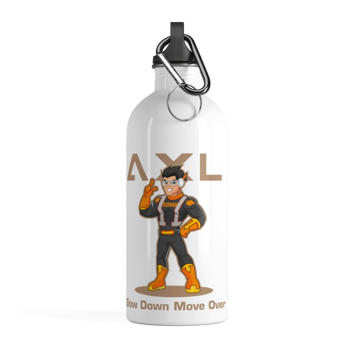 Axl & City (SDMO) Stainless Steel Water Bottle (2-sided)