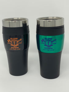 Travel Coffee Mug (16oz) - Multi w/ It's The Law