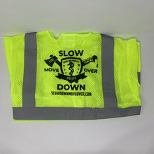 Load image into Gallery viewer, ANSI-3 High-Vis Safety Vest w/ Multi-Discipline