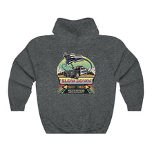 Load image into Gallery viewer, Unisex Heavy Blend™ Hooded Sweatshirt - SDMO Police Mural