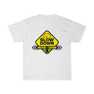 Basic Heavy Cotton Tee - SDMO Yellow Sign Design